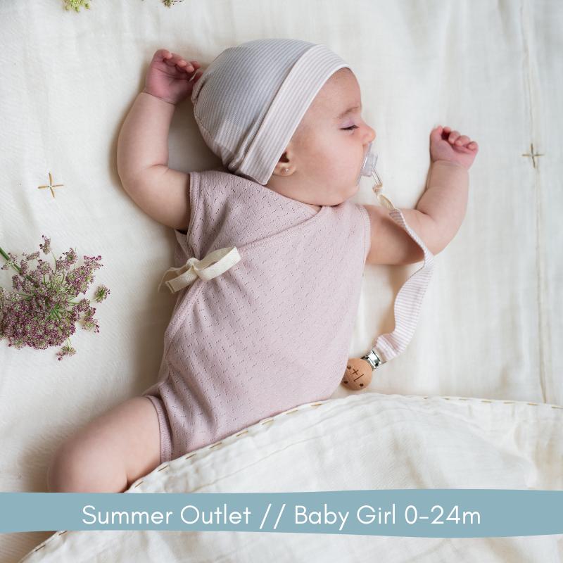 Summer Outlet // Baby Girl 0-24m // Labels for Little Ones