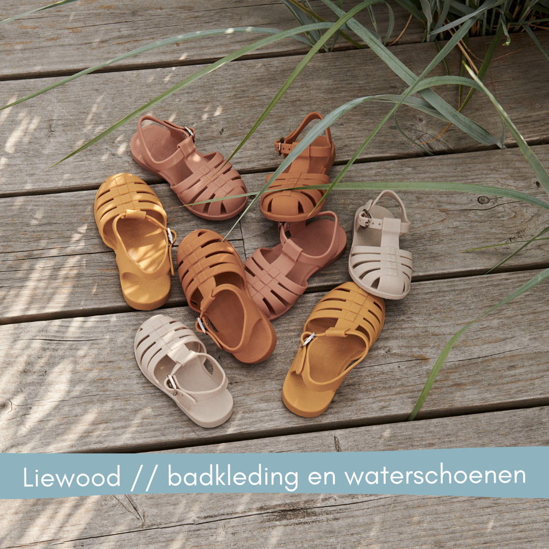 Liewood badkleding en waterschoenen // Labels for Little Ones