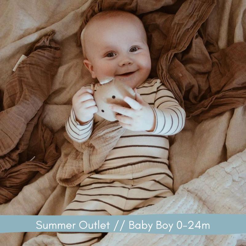 Summer Outlet// Baby Boy 0-24m // Labels for Little Ones