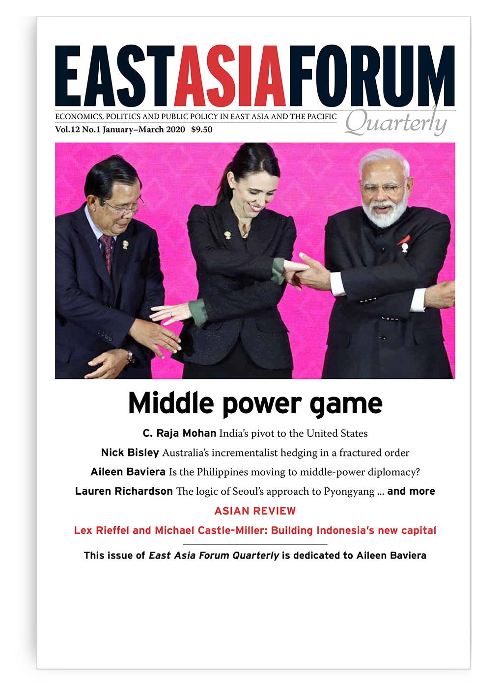 East Asia Forum Quarterly: Volume 12, Number 1, 2020