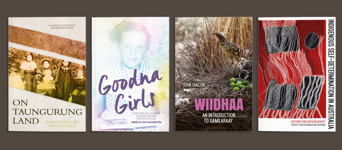 A selection of Indigenous history titles published by ANU Press