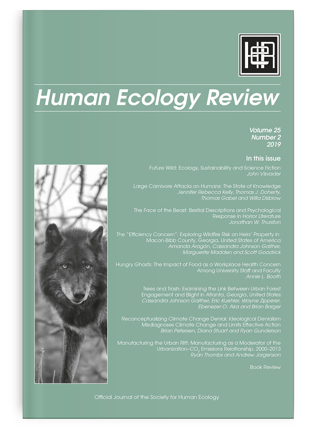 Human Ecology Review: Volume 25, Number 2