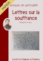 Lettres sur la souffrance (papier)