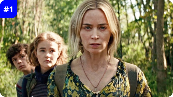 A Quiet Place Part II - #1 at the Weekend Box Office