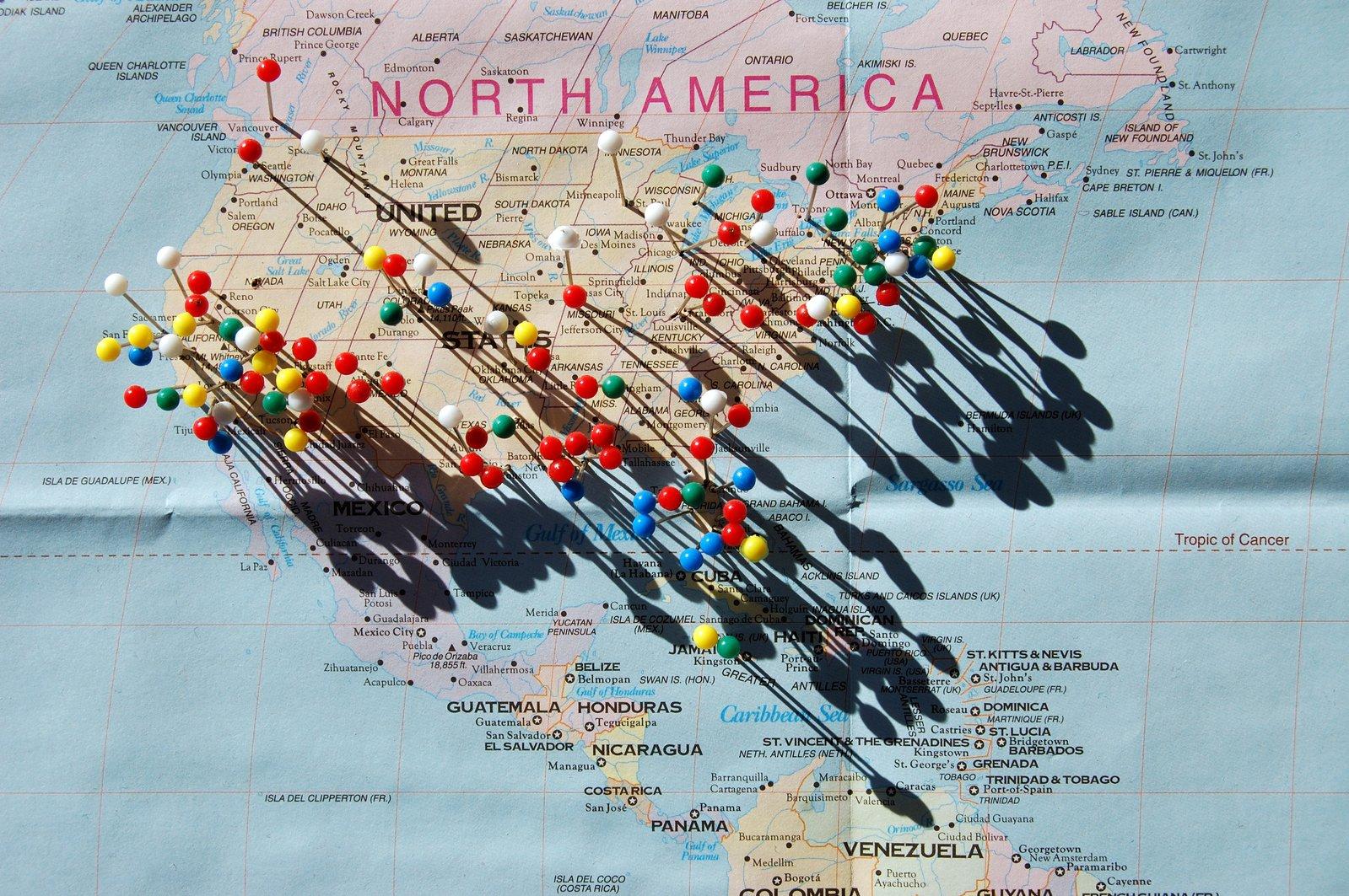 Map of USA image