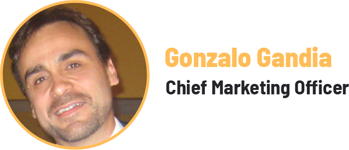 Gonzalo Gandia - Chief Marketing Officer