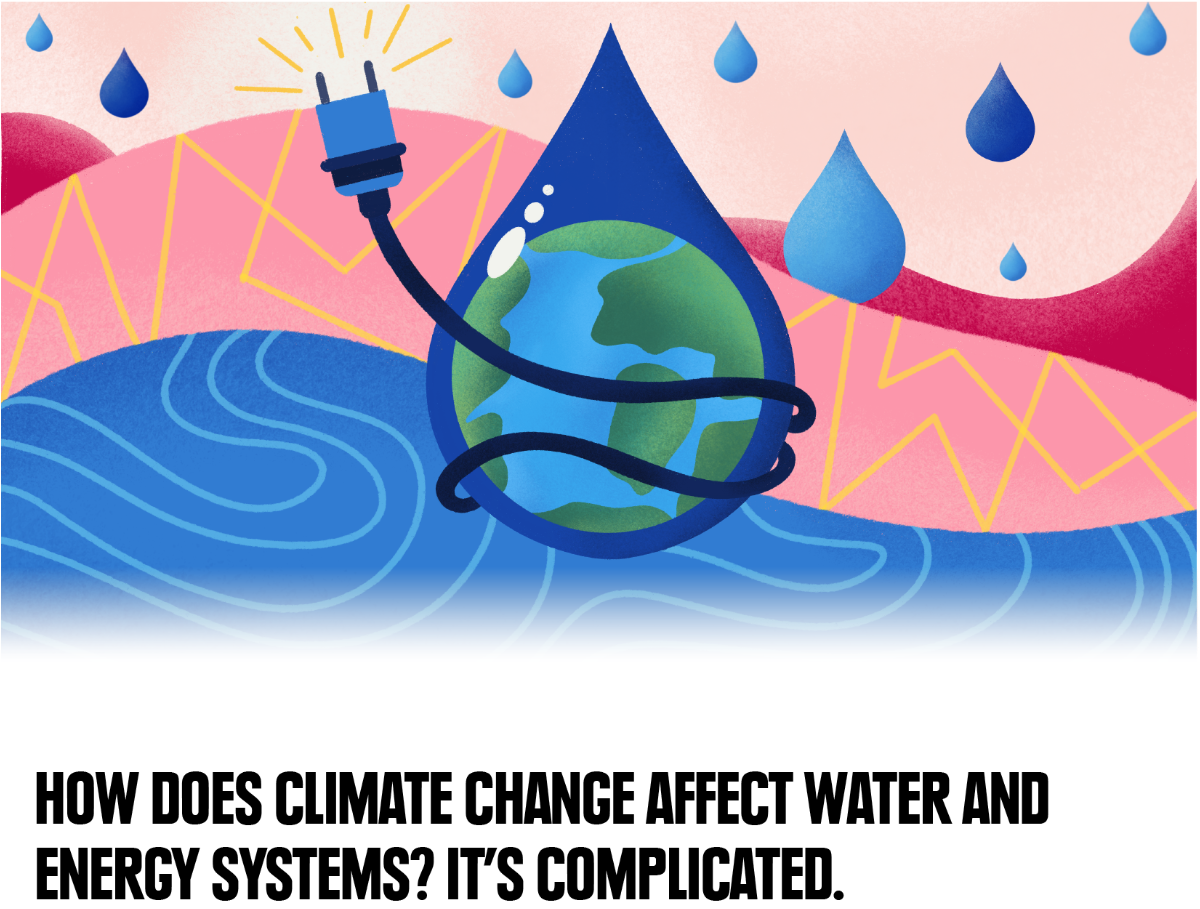 How does climate change affect water and energy systems? It's complicated.