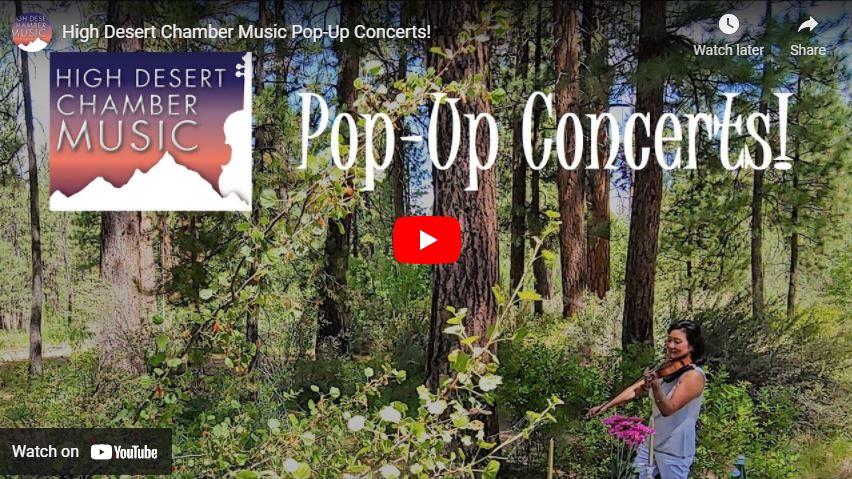 HDCM Pop-Up Concerts!