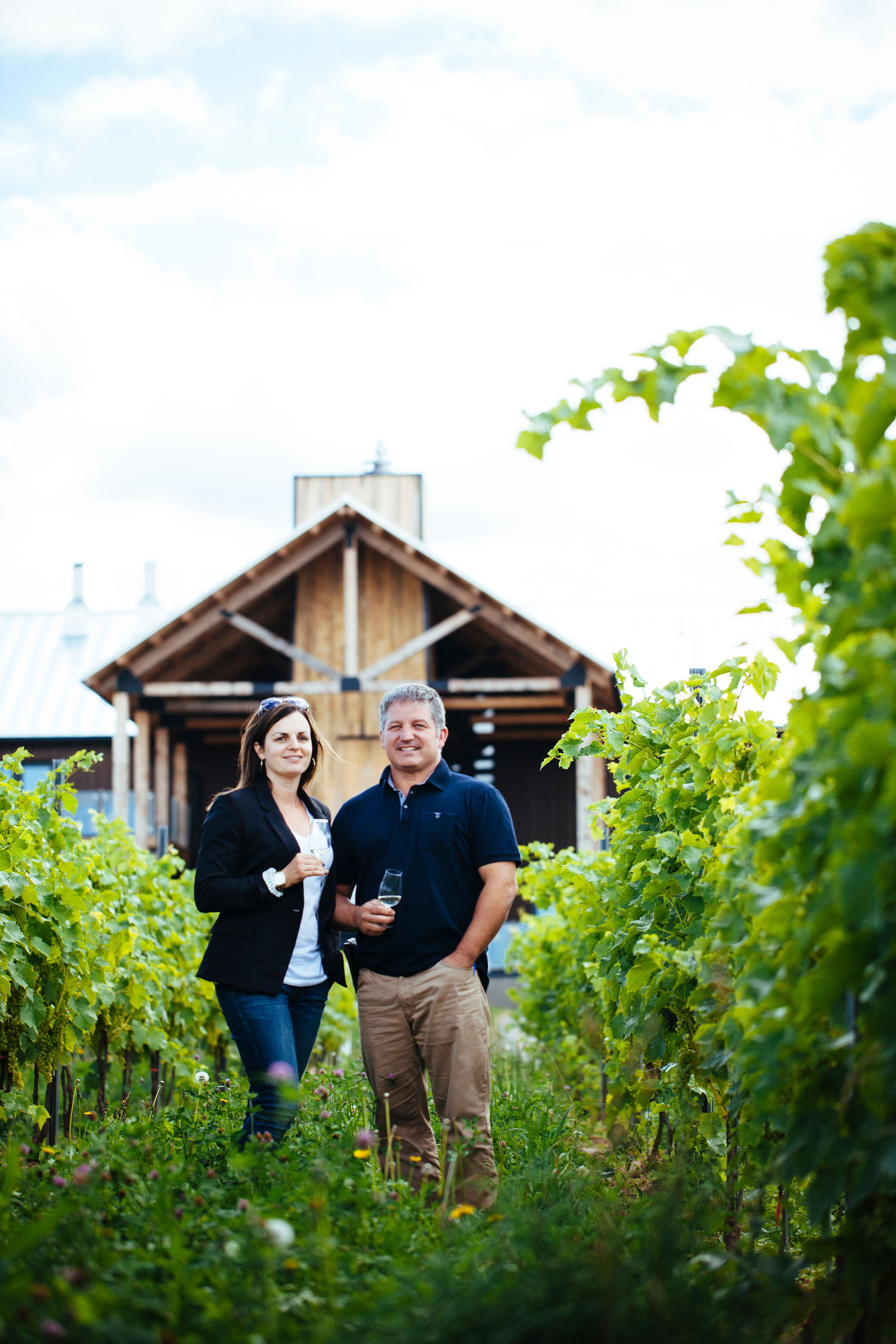 Saltwire foodie and sommelier Mark DeWolf applauds the commitment of Mike and Jocelyn Lightfoot (pictured) of Lightfoot & Wolfville to sustainable agriculture. Photo: Perry Jackson