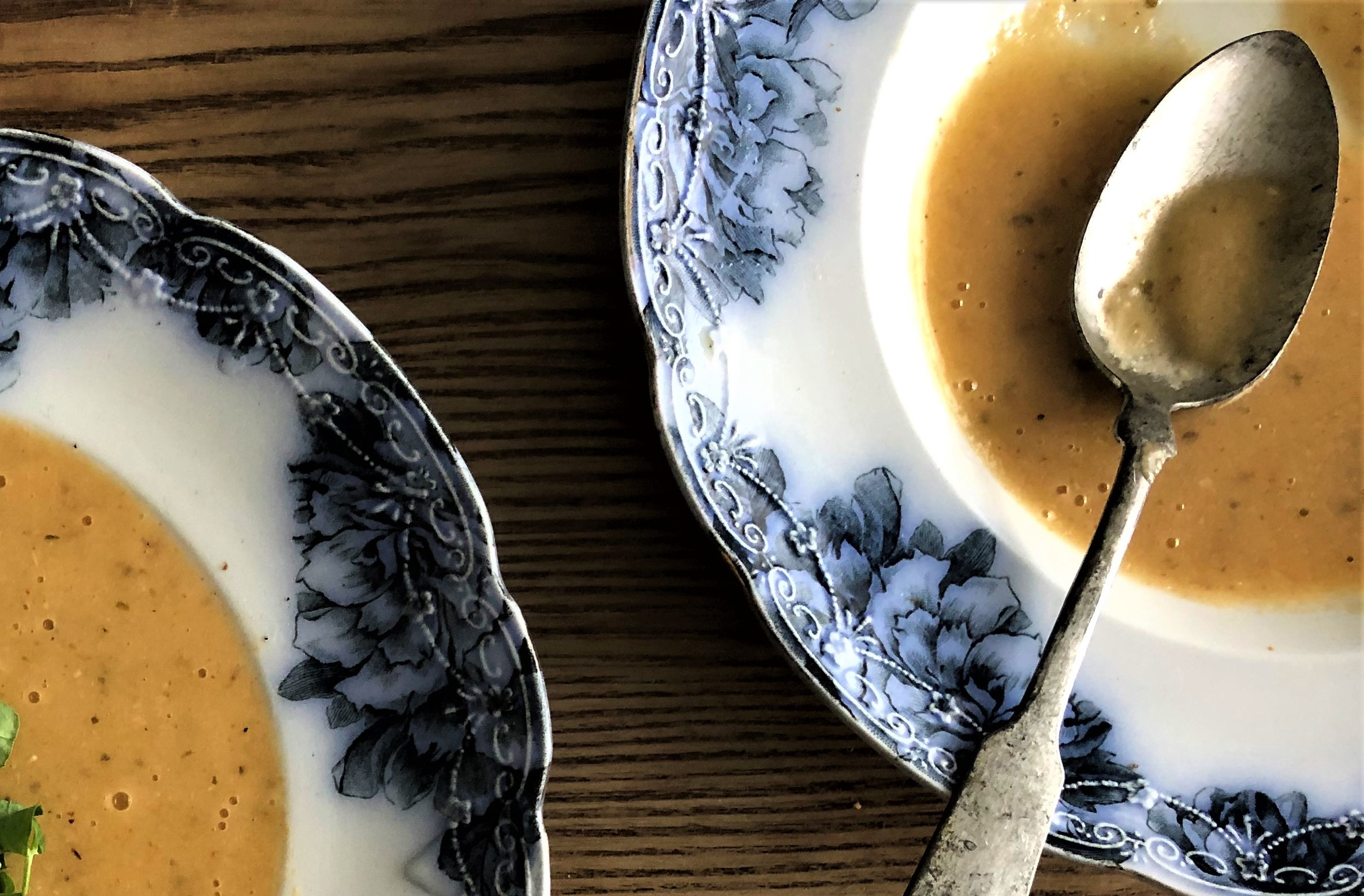 Create an intensely flavourful soup from roasted garlic and stale bread. It's that easy! - Mark DeWolf