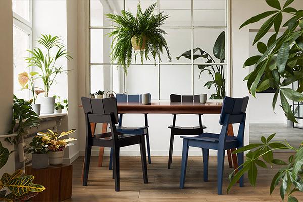 Ambiente Cadeira Uma com Mesa Lótus