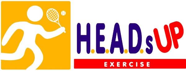 H.E.A.D.s UP Exercise logo