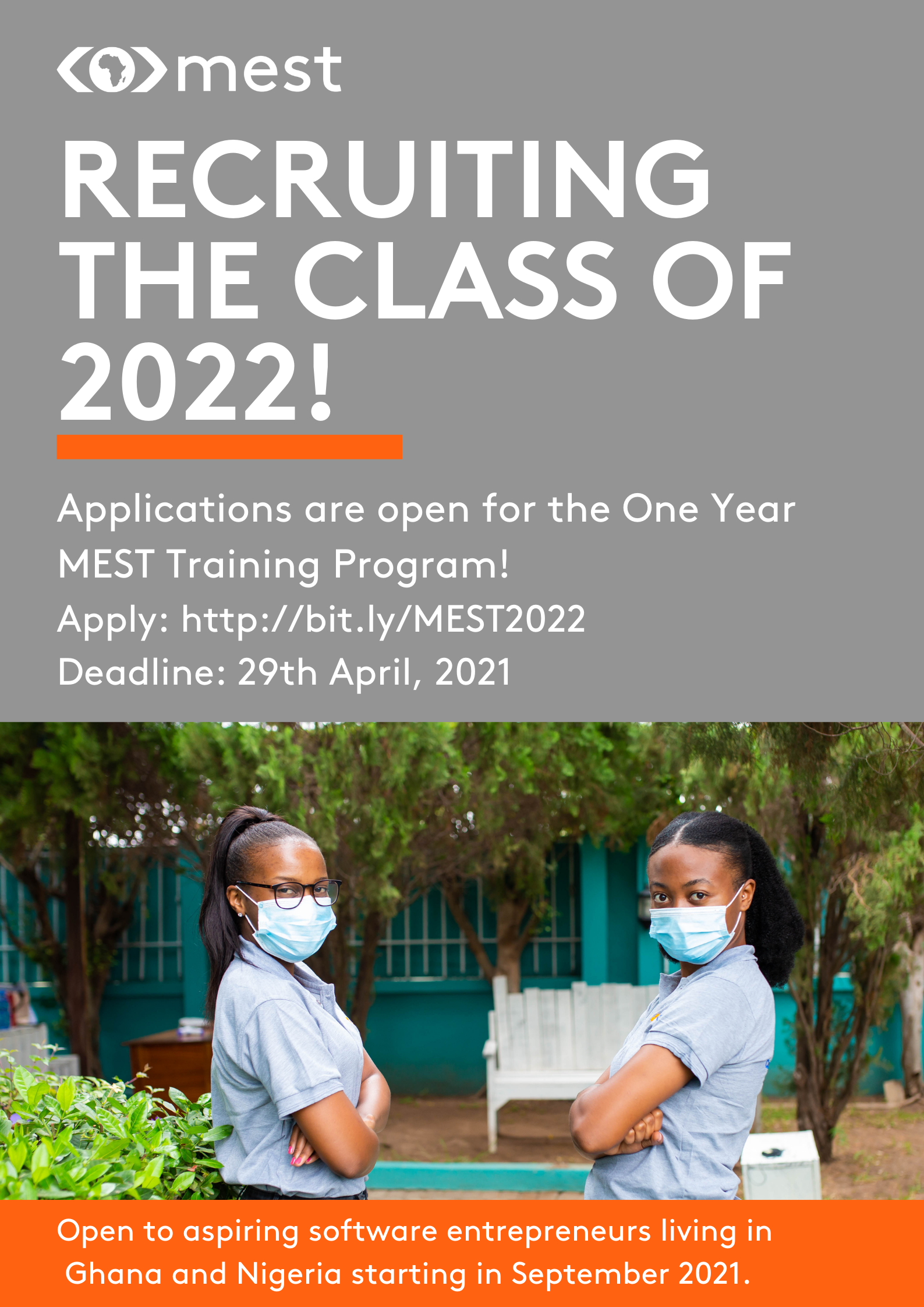 Poster for MEST Class of 2022