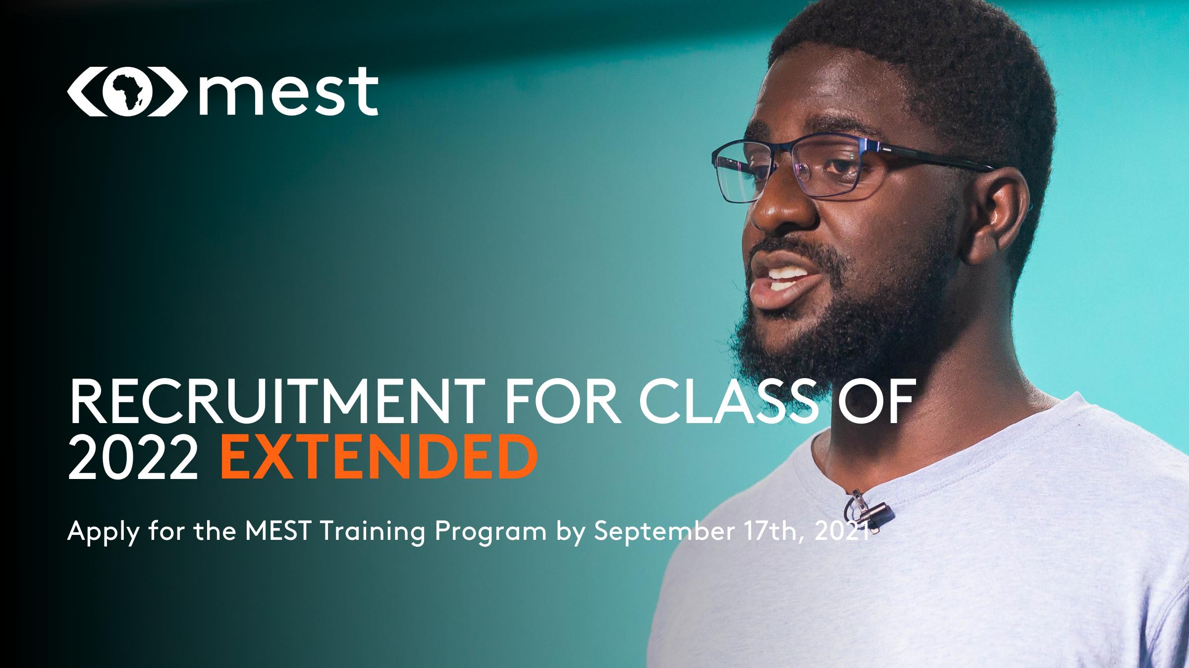 MEST training program extension