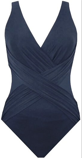 Miraclesuit corrigerend badpak crossover midnight