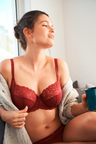Panache lingerie envy bh met side support envy in rosewood