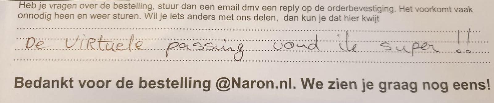 Maak je online afspraak op naron.nl