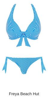 Freya Swim beach hut high spex bikini in blue moon