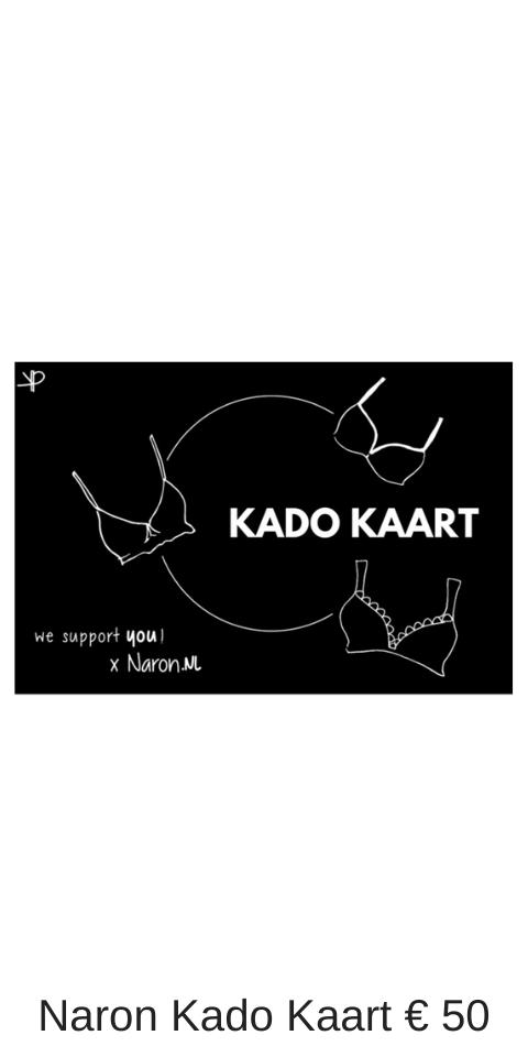 Naron Kado kaart €50 nu ook digitaal verkrijgbaar