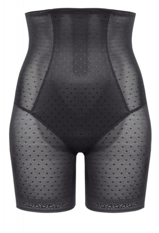 Ulla lingerie meghan body control slip met pijpje in black