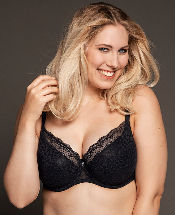 Ulla lingerie Josy in black