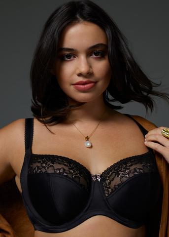 Sculptresse lingerie Chi chi balconet bh in black