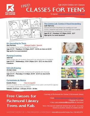 RAC Fall 2020 Kids and Teen Classes Richmond Library_Page_2