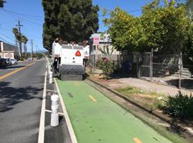 cycle track sweeping (2)