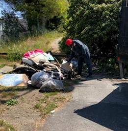 Illegal Dumping Boorman Park