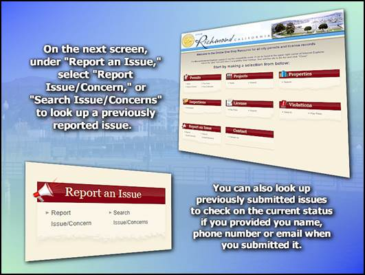 COR Connect Service Concern and Issues 3