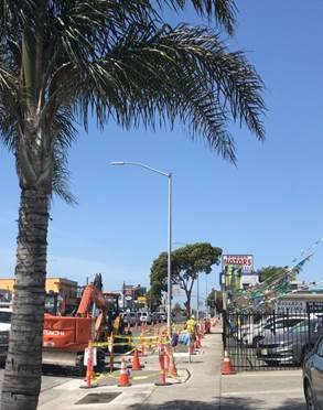 Forde sidewalk restoration 4.27.20