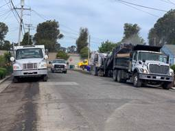 Grinder and Sweeper operations Carlos Ave