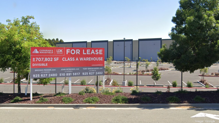 The warehouse at 2995 Atlas Rd. in Richmond, now leased by Amazon.