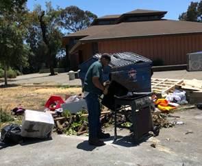 Illegal Dumping BTA Park