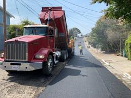 Paving operations on South 58th (3)