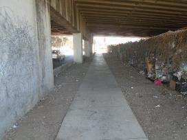 A picture containing ground, curb    Description automatically generated