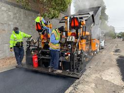 Paving operations on South 56th2