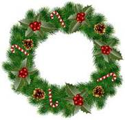 Christmas Wreath Clip Art Image | Gallery Yopriceville - High-Quality  Images and Transparent PNG Free Clipart