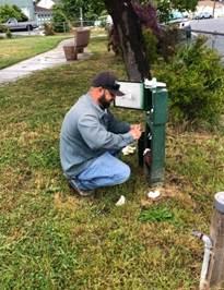 Irrigation repair Solano Playlot