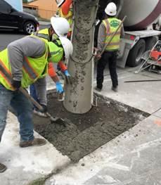 Forde pouring concrete 4.20.20