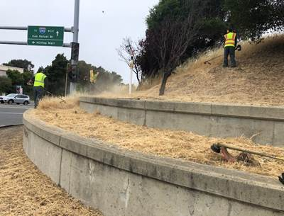 Richmond Parkway & I-80 weed abatement
