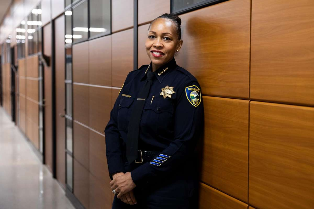 Richmond Police Chief Bisa French, the only Black woman police chief in the state, worries that proposed cuts to her department would mean the loss of 35 officers and set her up for failure.