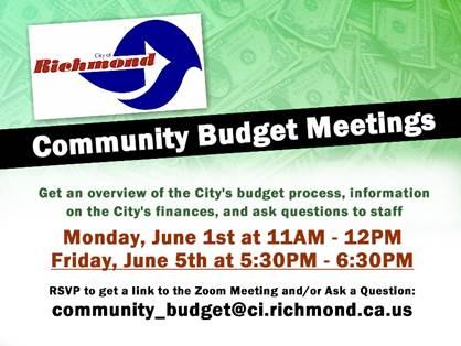 Community Budget Meetings