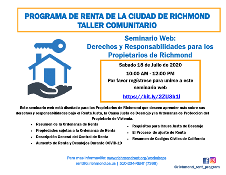 FINAL FLYER Rights and Responsibilities (Landlords)_2020_Spanish