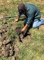 Irrigation Repair Hilltop Park