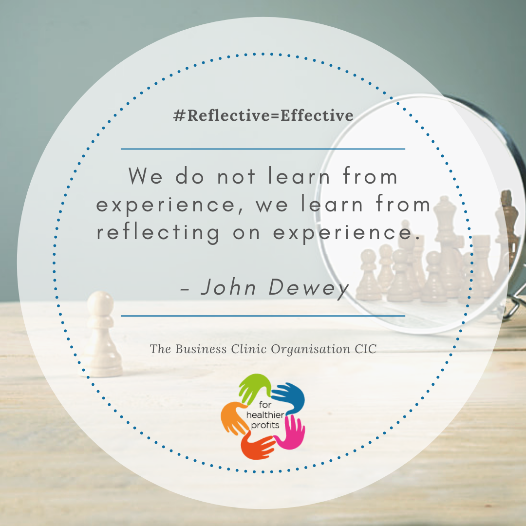 We do not learn form experience, we learn from reflecting on experience
