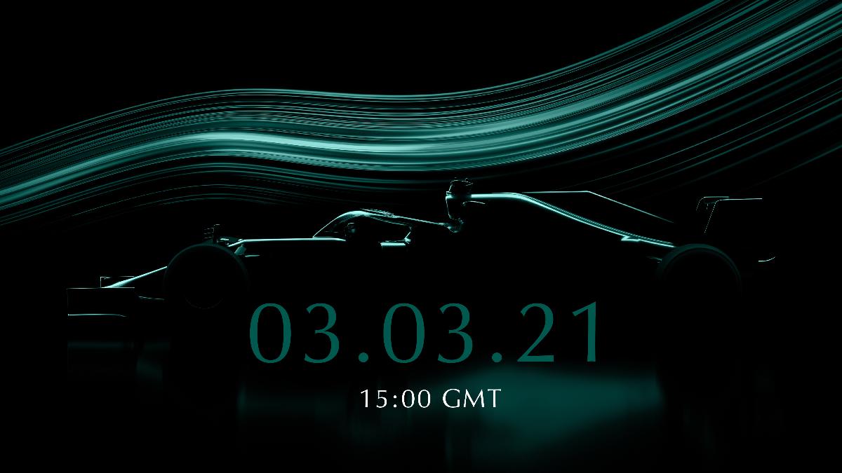 Prezentacja Astona Martina na sezon 2021 Formuły 1