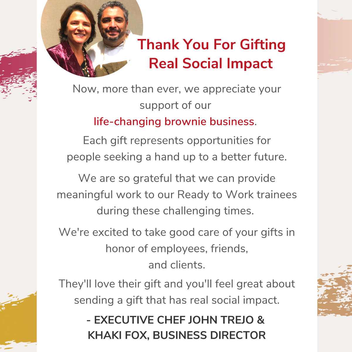 Gifts With Real Social Impact