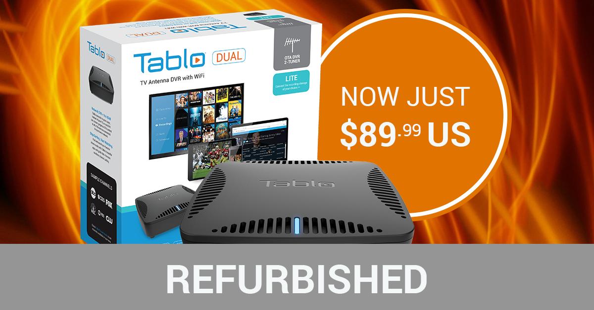Tablo Fall Refurbished DVR Sale