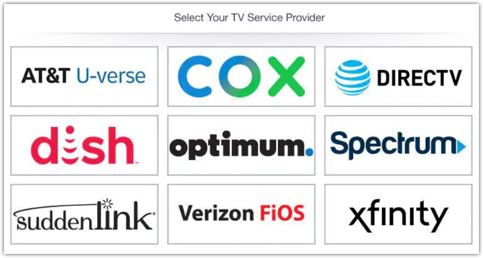 TV Service Provider